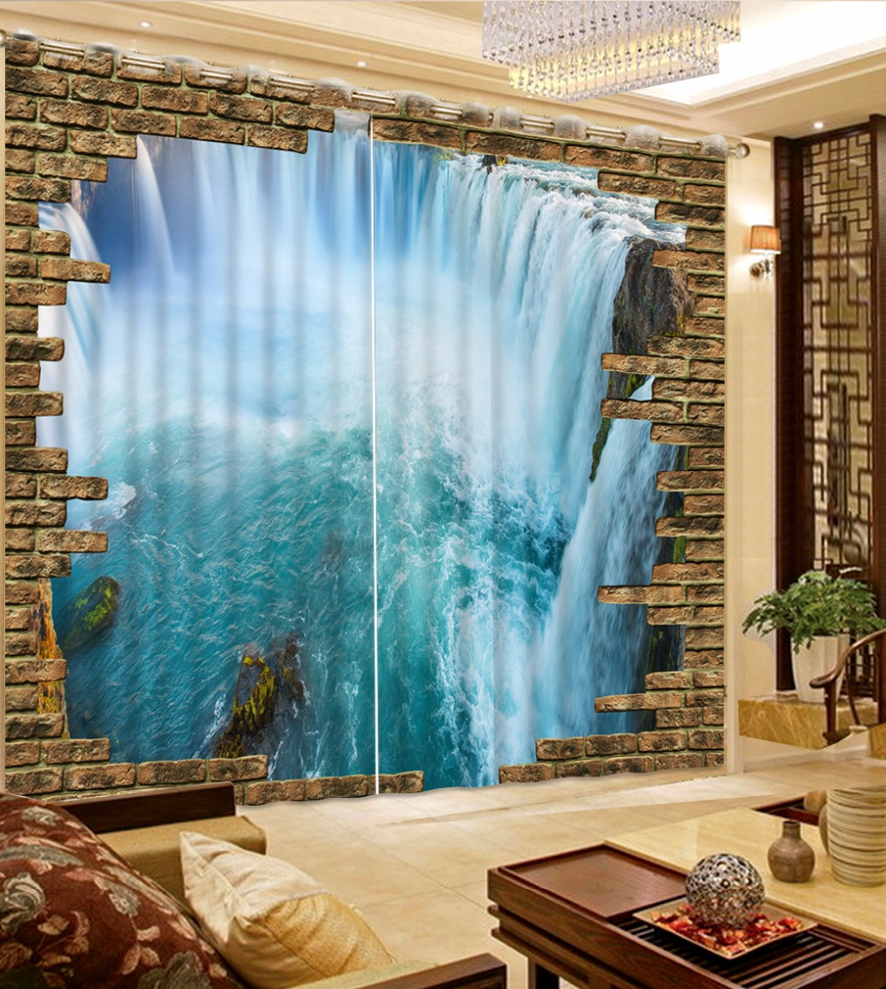 size large of waterfall full high curtain curtains shower unique scene design