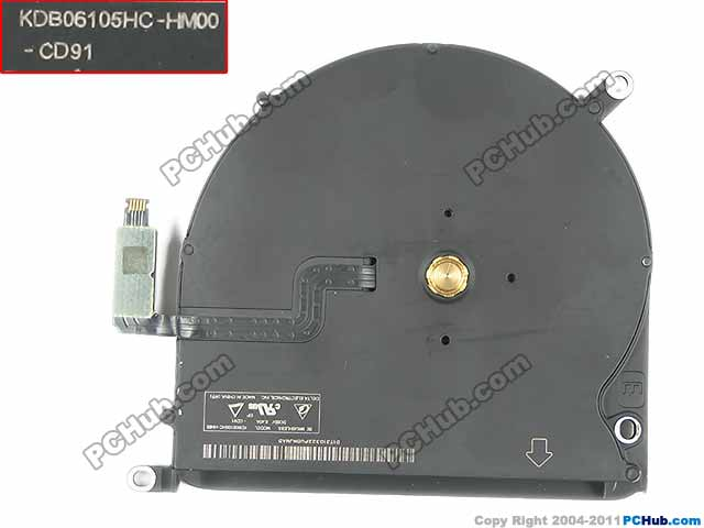 Delta KDB06105HC HM00 DC 5V 0.40A Server Bare fan