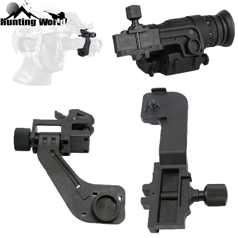 Mount-Set Helmet Sighting-Scope Pvs14 Pulsar Rifle GS1X20 Hunting Tactical-Polymer NVG