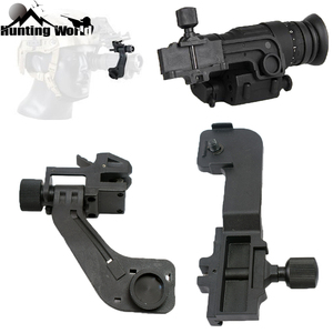 Image 1 - Tactical Polymer NVG Mount Set Night Vision J Arm Mount Adapter fits Helmet Pvs14 Pulsar GS1X20 for Hunting Rifle Sighting Scope