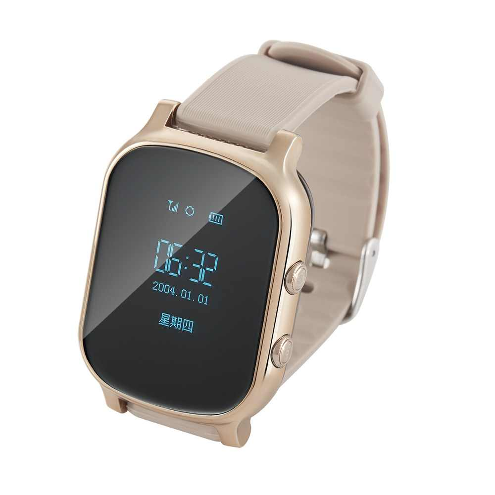 T58 Kids Smart Watch GPS Wifi Smart Tracker Antil-lost Baby Elder Fitness Tracker SOS Children Smartwatch Student Smartwatch.