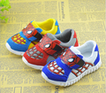 Hot Sale Baby Spiderman Shoes Cute Cartoon Tenis Menino Causal Sports Shoes Children Christmas Halloween TX16