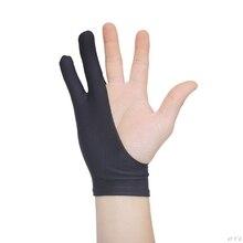 Перчатки для рисования с 2 пальцами, противообрастающие, для художника, для любой графической живописи, цифровой аблет для правой и левой руки