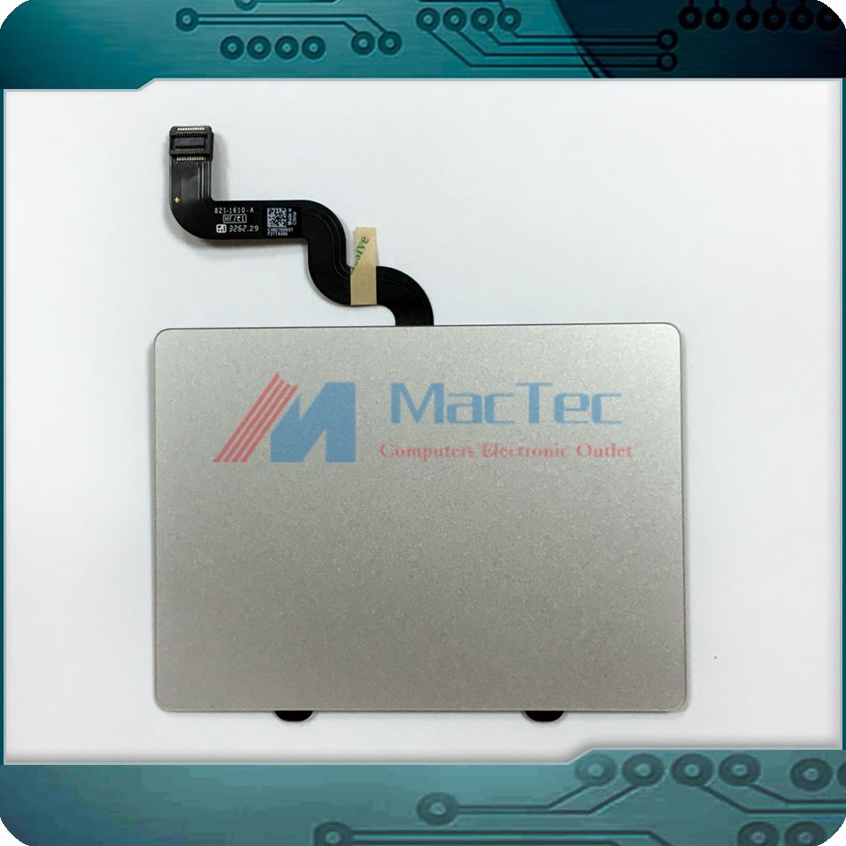 Genuine New For Apple Macbook Retina 15 A1398 Trackpad Touchpad W/ Ribbon Flex Cable Connector Mid 2012 Early 2013 Year