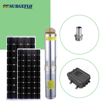 permanent magnet synchronous motor solar powered pump brushless dc solar fountain stainless steel solar pump dc for irrigation