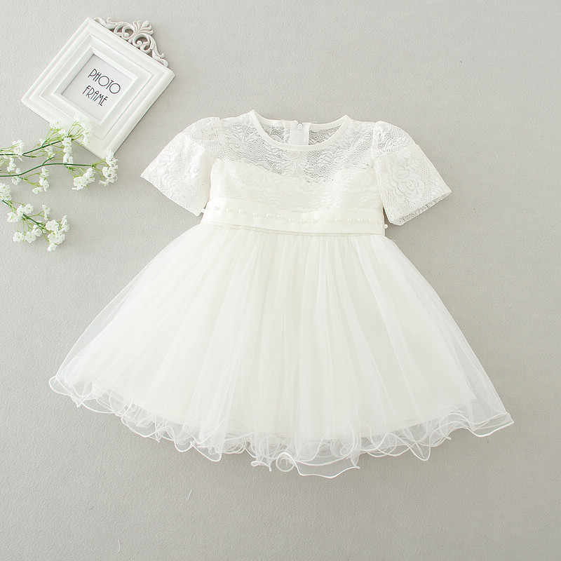 20b6d5a2c2 Newest 2016 Newborn Baby Girl Princess 1 Year Birthday Party Dress Toddler  Infant Formal Christening First Communion Dresses