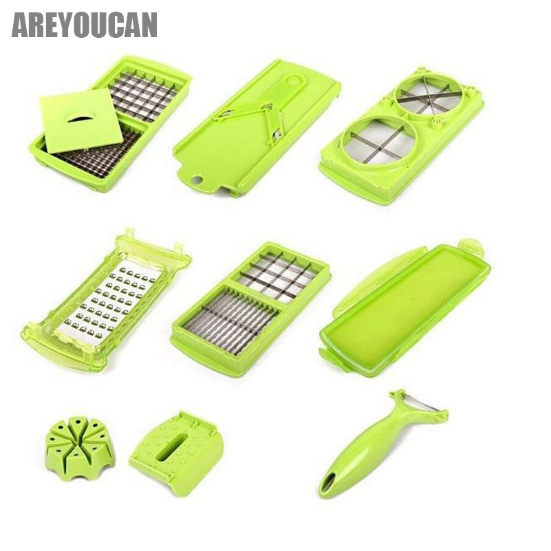 Multifunctional Shredder Vegetable Grater Potato Cutter Machine Dicer Julienne Slicer Cooking Tools Fruits Chopper Accessories