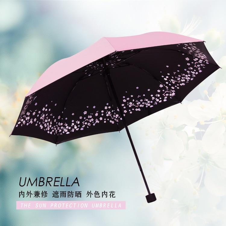 KUAYI Umbrella-Windproof /& Foldable Travel Umbrella,Automatic Flowers Umbrella