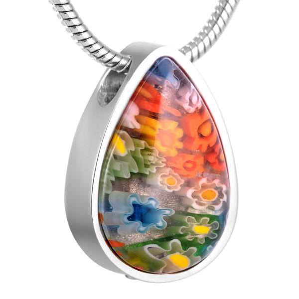 Murano Glass Urn Necklace