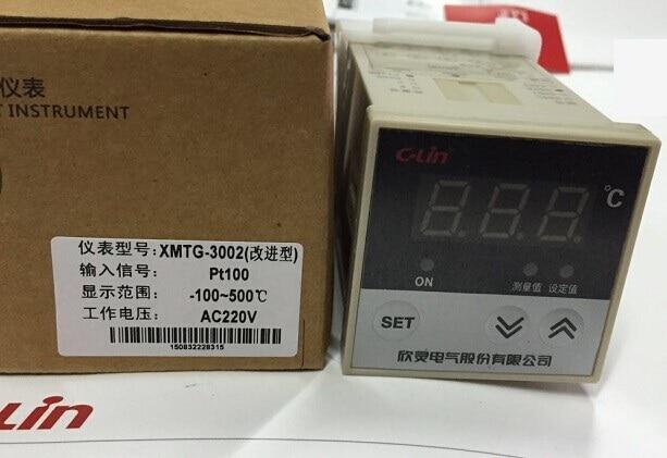 c-lin XMTD digital temperature controller XMTD-3001 temperature controller PT100 AC220 -100-500 xmtd 9071 intelligent temperature controller xmtd 9000 dual two digital display f c pid temperature controller
