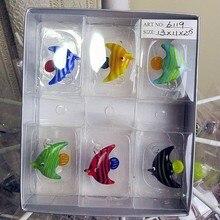 Manufacturer production! Munuola glass sculpture Home Furnishing European style small tropical fish aquarium decorative pendant