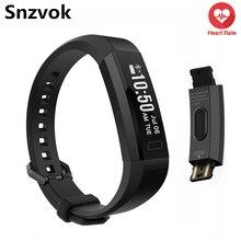 Snzvok S11 умный Браслет Смарт Браслет inteligente спортивный браслет сердечного ритма фитнес-трекер активности для iOS и Android