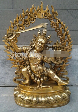 Free Shipping Free Shipping 0 Tibetan Buddhist Bronze MANJUSHRI Buddha Statue 14 Cm