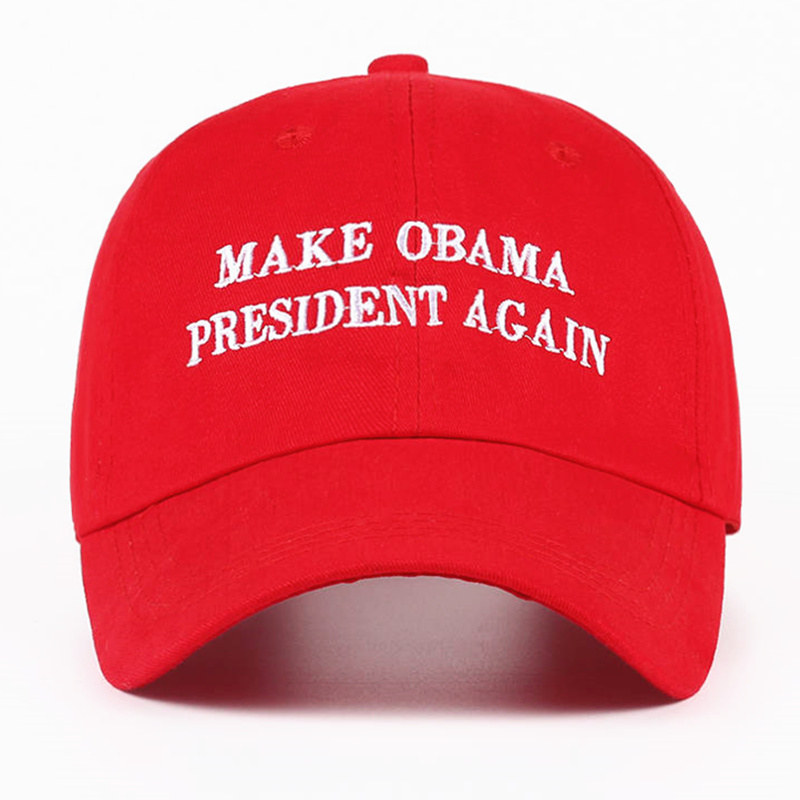 VORON 2017 new Make Obama President Again Dad Hat men women Cotton Baseball Cap Unstructured New - Red image