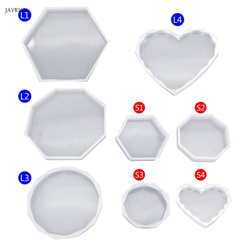 Silicone Mold DIY Crystal Epoxy Resin Molds DIY Jewelry Making Decoration Table Crafts Gifts Cake Tools Handmade Geometric Shape