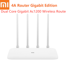 Xiaomi Mi 4A Router Gigabit Edition 2.4GHz + 5GHz WiFi 16MB 128MB 4 Antenna Wireless Remote APP Control Support IPv6