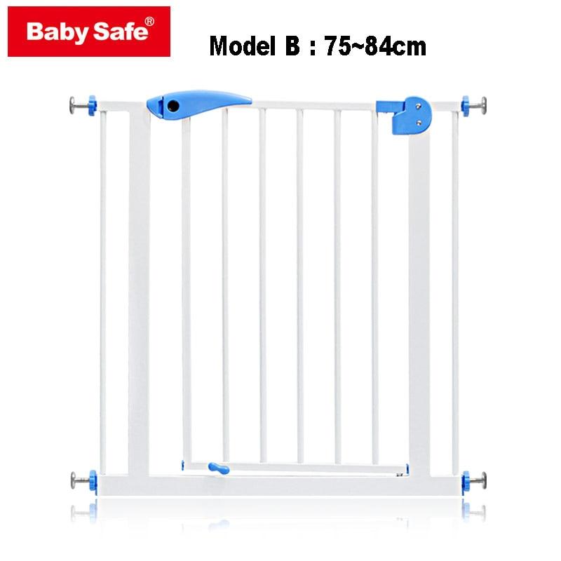 ✔  Babysafe металлические железные ворота детские защитные ворота пэт изоляция забор 75-82 см ширина го ✔
