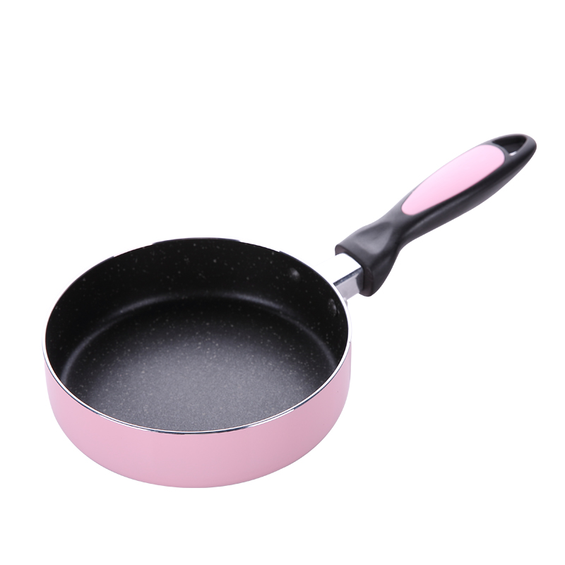 16cm non-stick cookware stone layer Frying pan saucepan Small Fried Eggs pot apply to Electromagnetic furnace or Gas stove