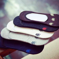 YUROCKER 5Pairs Harajuku Tmall Skull Design Socks Slippers Female Home Lover Socks Kawaii Women S Socks