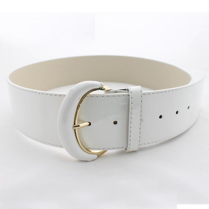 korean fashion wide girdle color wide belt
