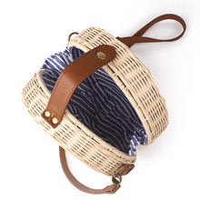 Bohemian Bali Rattan Cross-Body