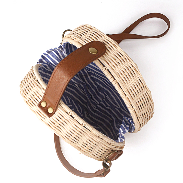 Women's Stylish Straw Beach Bag