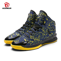 ALDOMOUR New Mens Women Basketball Shoes Breathable Outdoor Athletic Shoes Sports Shoes For Men Cushioning Shoes
