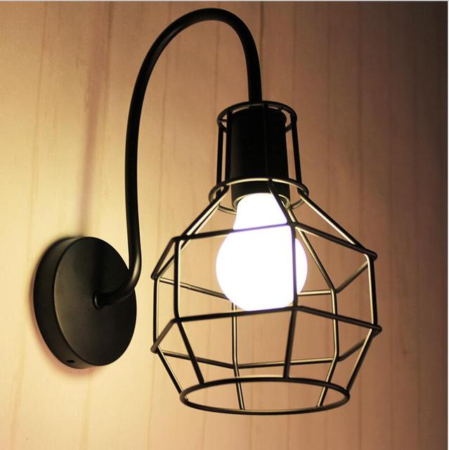 Loft Wall Mounted Light For Living Room Foyer Bed Dining Lamps Led Bathroom Lights Fixtures