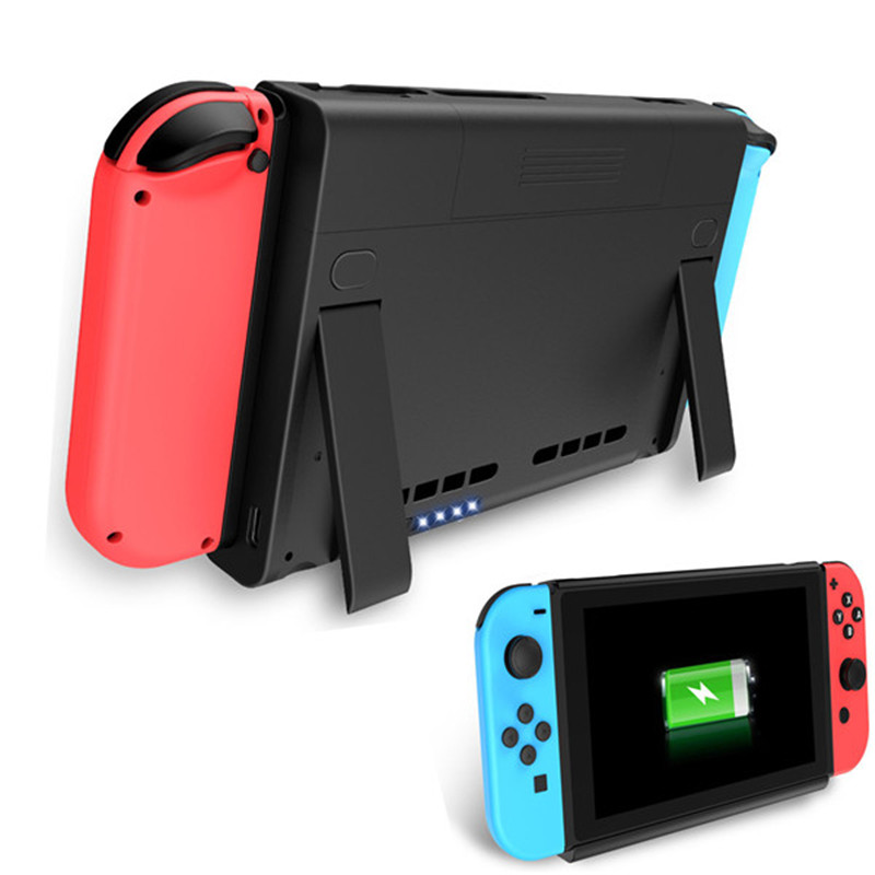 Cover Case For Nintend Switch NS Anti-scratch Portable 6500Mah Chargeable Battery Cases Holder 3in1 For Nintend Switch