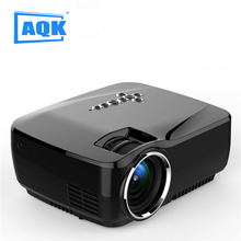 3D android 4.4 Projector 1200 Lumens Support 1920x1080P Analog TV LED Projector MINI wifi Projector for Home Cinema GP70up