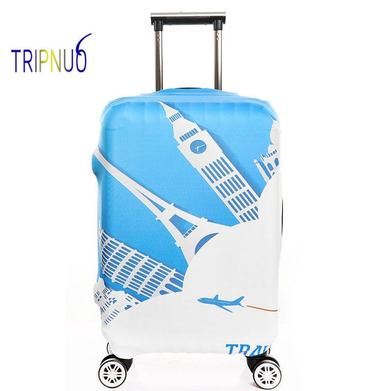 TRIPNUO толстые эластичные Чемодан крышка Биг Бен чемодан Защитная крышка для 18 -32 пыли, дорожные аксессуары