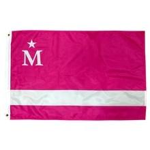 Бесплатная доставка johnin Modern Life Queque Moderna moderdonia flag Баннер