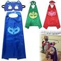 New Kids Boy Chicas Máscaras Cape Conjunto Máscara Owlette Catboy Cosplay Fiesta de Disfraces