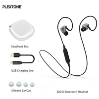 PLEXTONE BX240 Bluetooth Earphone Sports Waterproof Earphone Earbuds With Microphone For Iphone 7for Samsung For Mobile