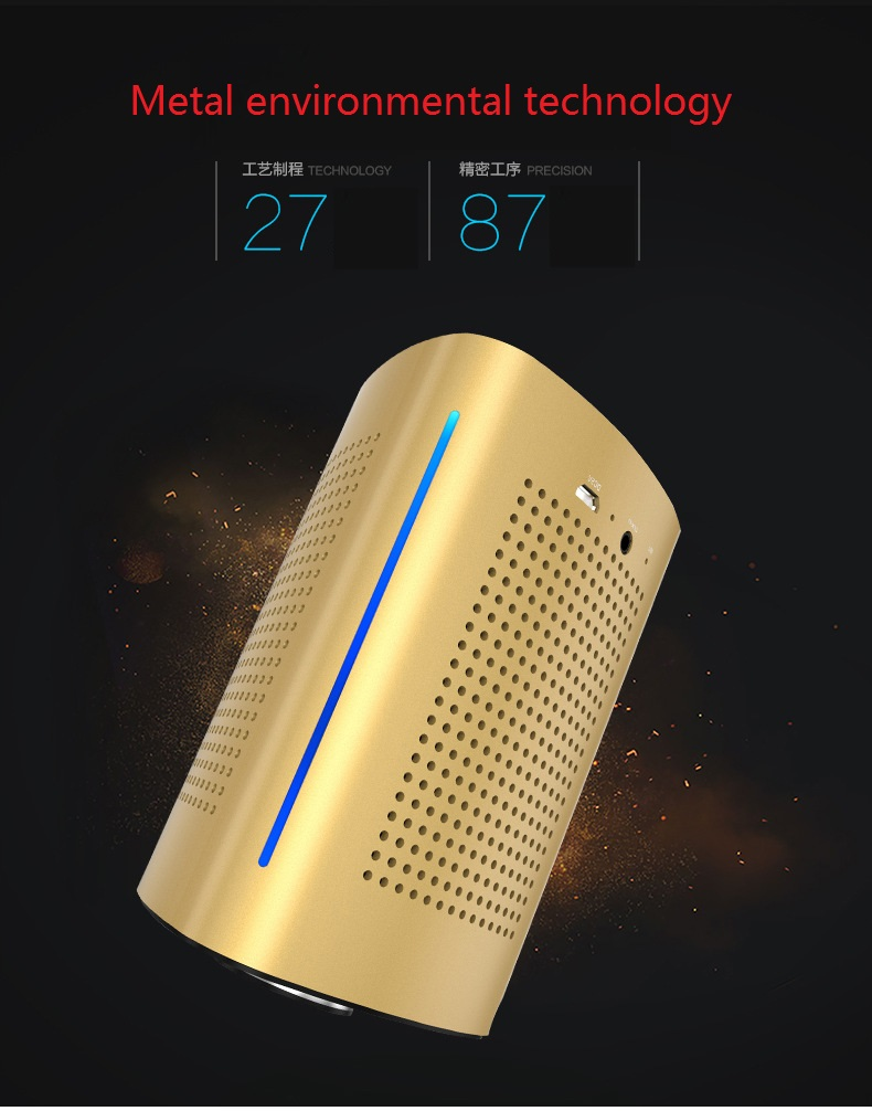 New ADIN V8 Vibration Speaker 36W Bluetooth Speakers Wireless Subwoofer NFC Stereo 3D Surround Touch Computer Phone Speaker (5)