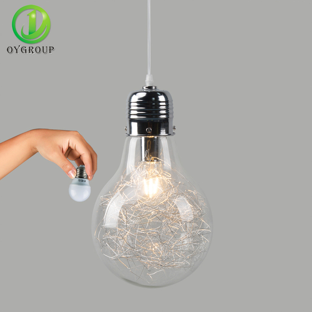 New Aliexpress.com: Koop Nieuwigheid Hanglamp Grote Bol Vorm BV75