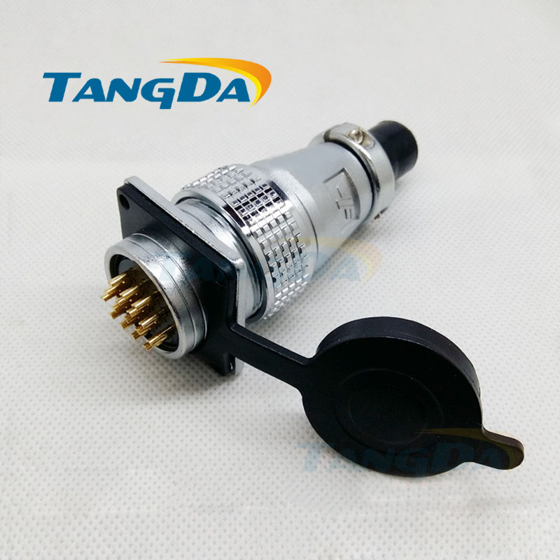 Tangda Aviation Plug connectors PLS28 P28  2 3 4 5 8 10 12 14 16 19 20 24 26 pin core 28mm square flange Socket 2p 5p 10pin tangda connectors servo motor plug aviation plug vw3m8122 17p 17pin 17 core ms3108b 20 29s elbow ydm30200447 a