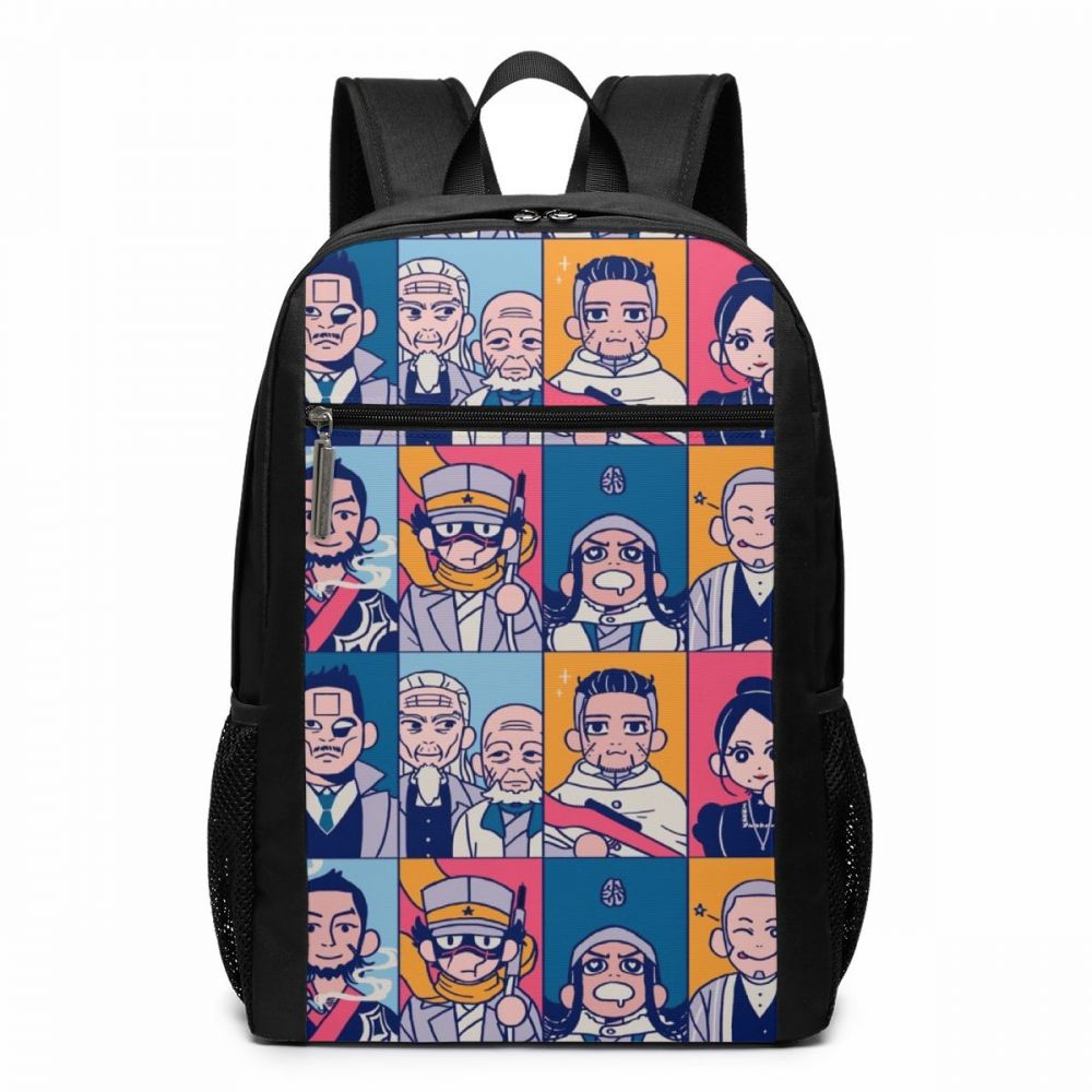 Golden Kamuy Backpack GK Team Up Backpacks High quality Trend Bag Men Women Pattern Teen Multifunctional Shopping Bags in Backpacks from Luggage Bags