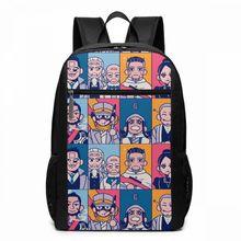 Golden Kamuy Backpack GK Team Up Backpacks High quality Trend Bag Men - Women Pattern Teen Multifunctional Shopping Bags