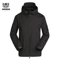 Rocksir Fashion Bomber Men Thick Outwear Winter Warm Jacket For Men Soft Windbreaker Men Jacket Autumn