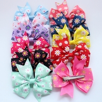 Baby Girl Hair Bow Flower Children Accessory Baby Barrettes Hair Accessories Kids Hairpins Boutique Hair Clips
