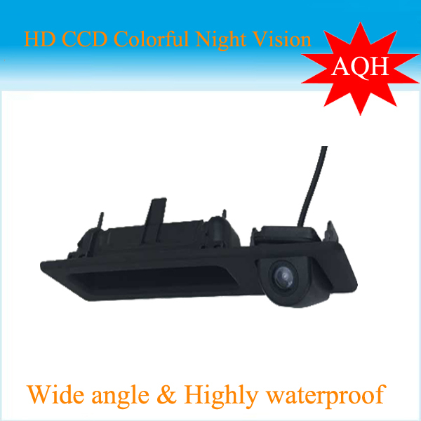 For SONY CCD wireless car Rear Camera for BMW E82 E88 E84 E90 E91 E92 E93 E60 E61 E70 E71 E72 Parking assist trunk handle