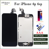 Mobymax LCD Touch Screen Full Assembly Frame Front Camera For IPhone 6p 6sp 100 No Dead
