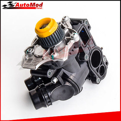 Water Pump Thermostat Assembly For VW Golf Jetta GTI Passat Tiguan 2.0T 1.8T 06H121026BA 06H121026 AF mutoh vj 1604w rj 900c water based pump capping assembly solvent printers