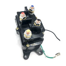 цена на 250AMP 12V Solenoid Relay Contactor&Winch Rocker Thumb Switch Kit for ATV Auto Replacement Parts