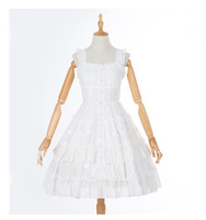 Summer Jumper Embellished Tiered Dress Lady White Knee Length Layered Ruffle Dress A Line Chiffon Ruched Beaded Dress For Women
