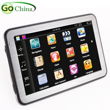 IaotuGo 5 дюймов Bluetooth AV в MTK автомобильный gps-навигатор, навигация, 800 МГц, 128 м, 4G, FM, Wince 6,0, карты грузовиков, Европа, Америка карты