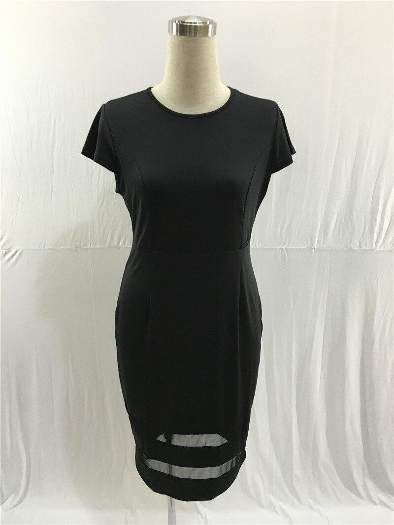Summer Europe Fashion Women Dress Streetwear Casual Sexy Sleeveless O Neck  Black White Dress Plus Size Female Knee Length Dress -in Dresses from  Women s ... df11f6e4a419