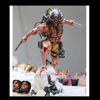 Новая предпродажа 1/4 масштаб Marvel Wolverin статуя Recast высокое качество (будет отправлен в конце января)