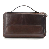 Famous Brand Men Clucth Wallets Male Long Genuine Leather Purse Men S Clutch Wallets Carteiras Mujer